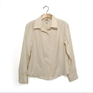 Talbots Button Up Top